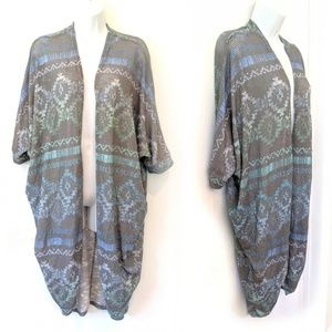 Arizona Jean Co. Aztec Open Style Cardigan